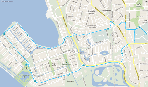 Parcours donderdag