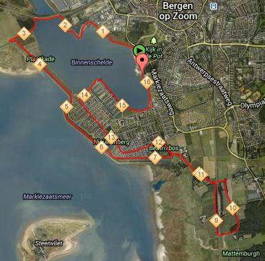 parcours Rond de Binnenschelde 2013-06-16