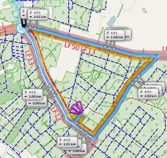 Parcours Kievitloop