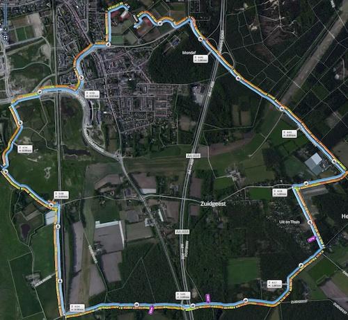 10 km parcours 2014-04-10