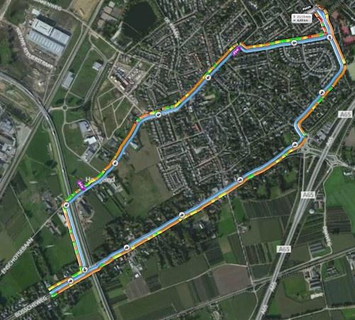 Parcours Galgenloop 5 km