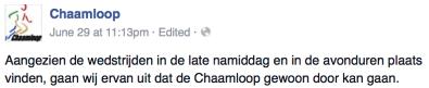 Chaamloop Facebook 2015 06 29 11|13pm