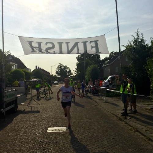 kermisloop heerle 2018, finisher