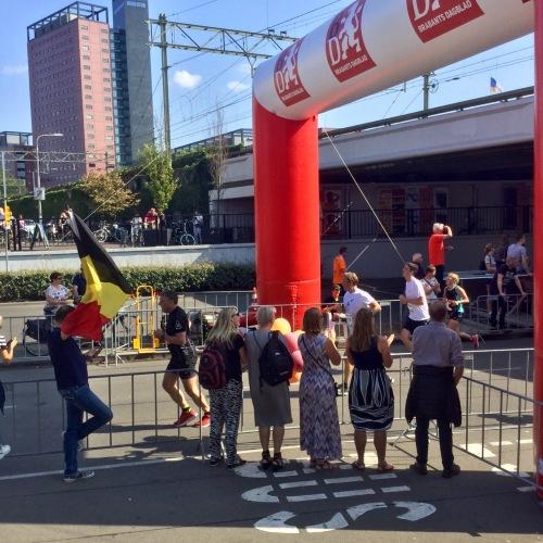 Tilburg Ten Miles nabij de finish